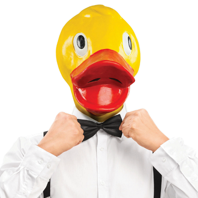 Rubber Duckie Mask
