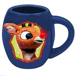 Rudolph: Holly Jolly 18oz Ceramic Oval Mug
