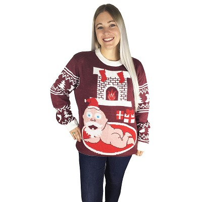 Ugly Christmas Sweater: Santa Baby