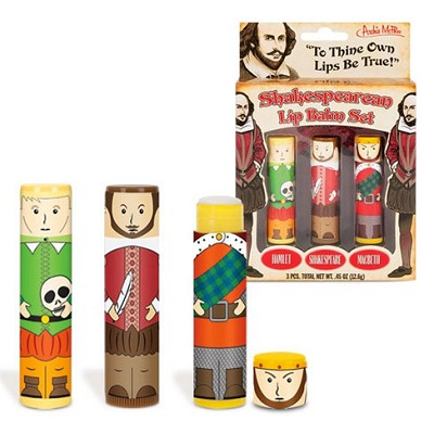 Shakespeare Lip Balm Set