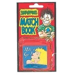 Snapping Match Book Prank