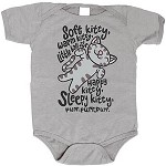Soft Kitty Baby Bodysuit