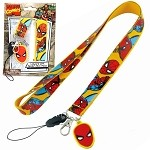 Spiderman Lanyard Necklace