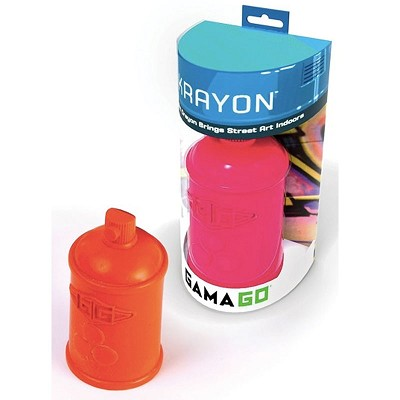 Spray Can Crayons