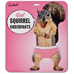 Squirrel Underpants for Girls