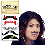 Stache Tats: Sexy Temporary Mustache Tattoos