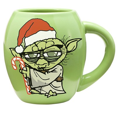 Star Wars: Yoda Holidays 18oz Oval Mug
