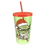 Star Wars: Yoda Holiday 18oz Travel Cup