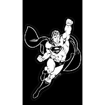 Superman Action Car Decal