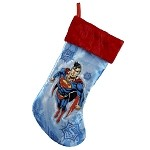 Superman Applique Stocking