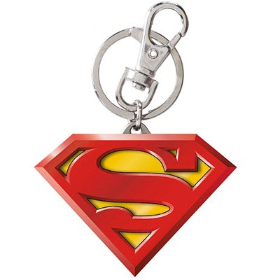 Superman Metal Keyring: Color