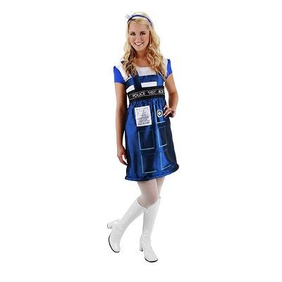 Tardis Dress: Small/ Medium