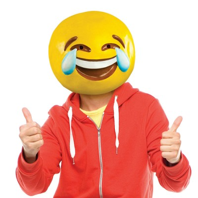 Tears of Joy Emoji Mask