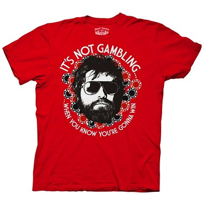 "The Hangover:  ""It's Not Gambling When You Know You're Gonna Win"" T-Shirt"