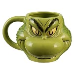 The Grinch Scultped Mug