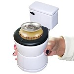 Toilet Beer Koozie
