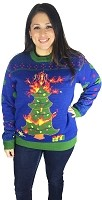 Light Up, Ugly Christmas Sweater: Oh Christmas Tree