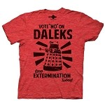 Doctor Who: Vote No On Daleks T-Shirt