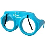 Wiper Glasses: Blue