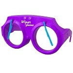 Wiper Glasses: Purple