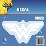 Wonder Woman Logo Car Decal, White