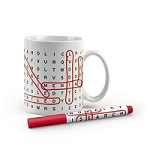 Word Search Mug